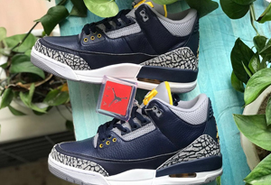 "AJ3密歇根大学配色多少钱 AJ3""University of Michigan""限量250双"