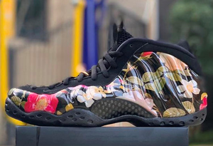 "Nike Air Foamposite One ""Floral""花卉喷"