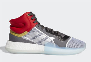 "Marvel x adidas Marquee Boost Mid""Thor"""