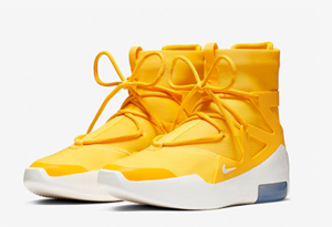 Air FOG 1亮黄色发售信息 Nike Air Fear Of God 1 Amarillo实物细节