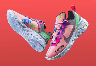 "Nike React Element 55""Doernbecher""发售 Nike React Element 55""Doernbecher""实物赏析"