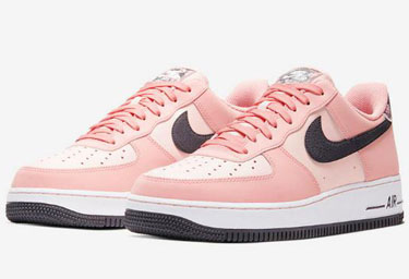 "Nike Air Force 1""Pink Quartz""元旦发售 AF1粉水晶男生能穿吗"