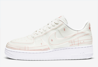 air force 1 Schematic 示意图主题谍照赏析 af1空军一号示意图主题发售信息