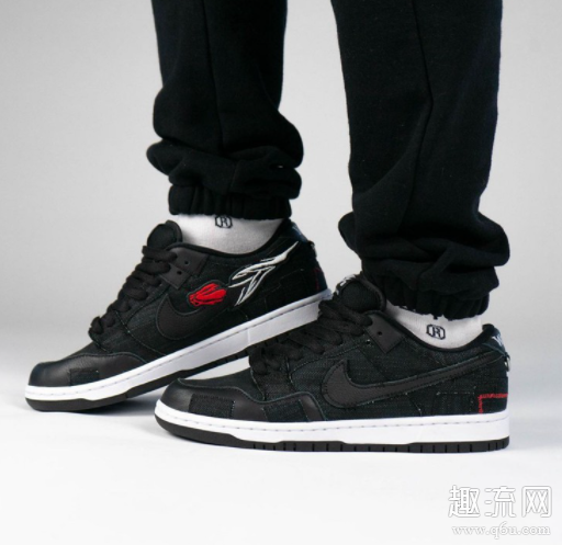 Wasted Youth × Nike Dunk SB Low上脚美图赏析 Wasted Youth × Dunk SB偏码吗